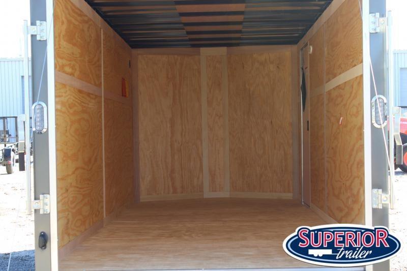 2021 Continental Cargo 7X16 w/ Ramp Door