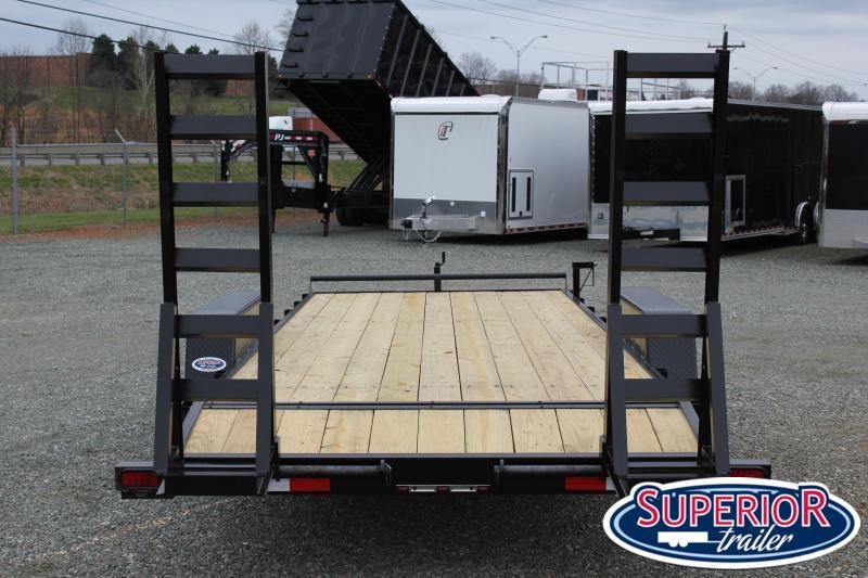 2021 Down 2 Earth 18ft 14K w/ Fold Up Ramps