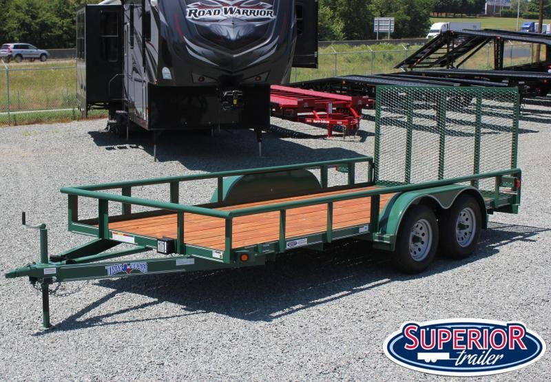2020 Texas Bragg Trailers 16P with Gate