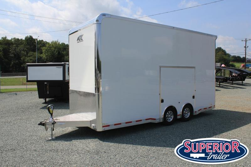 2019 Pre-Owned ATC 8.5x22 14K Quest Aluminum Stacker Trailer