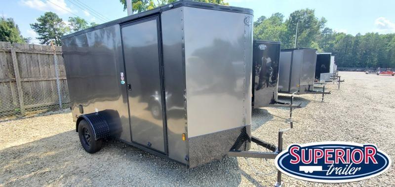 2021 Continental Cargo 6X12 w/ Double Rear Doors