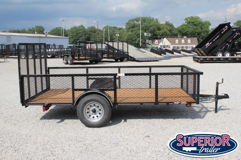 2021 Texas Bragg 6x12LD w/ 2ft Expanded Sides & Gate