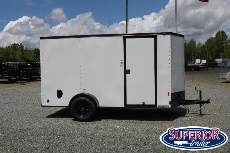 2021 Continental Cargo 6X12 w/ Blk Out Pkg and Ramp