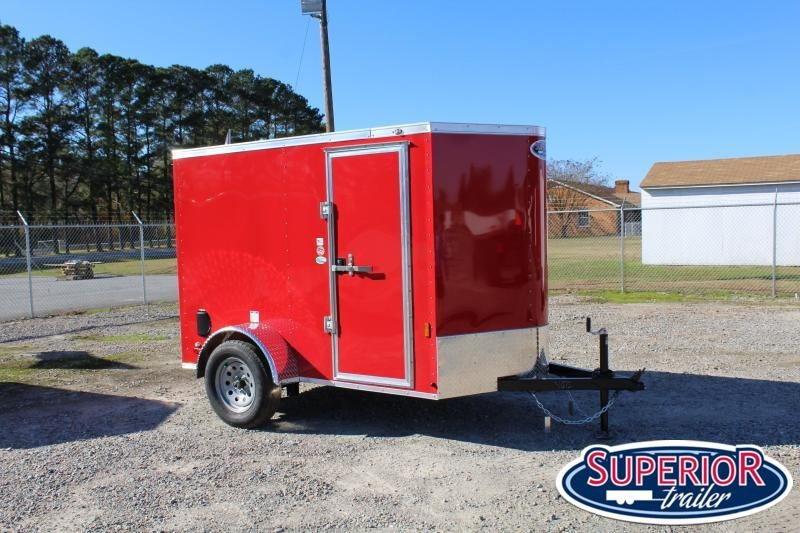2021 Continental Cargo 5X8 w/ Ramp Door