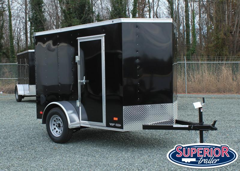 2021 Bravo Hero 5x8 w/ Extra Height and Ramp Door