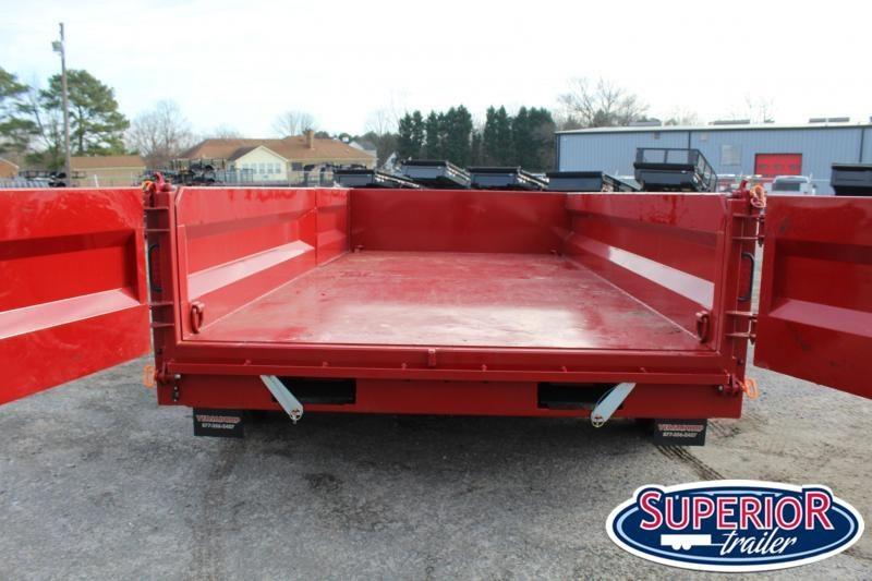2021 Midsota HVHD-14 7x14 Tandem Axle Dump Trailer