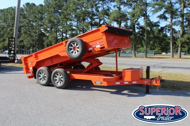 2021 Midsota HV-14 7x14 15K Dump Trailer w/ 7K Axles