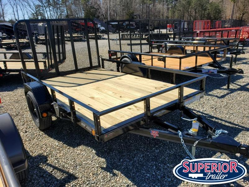 2021 PJ Trailers 6x10 U7 w/ Gate