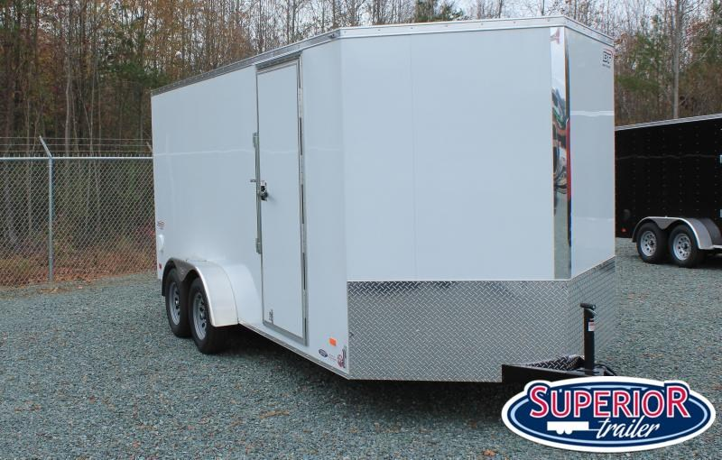 2021 Bravo Scout 7x16 w/ Extra Height and Ramp
