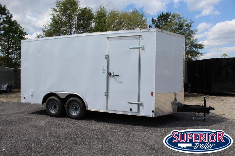 2022 Continental Cargo 8.5X16 10K w/ Ramp Door
