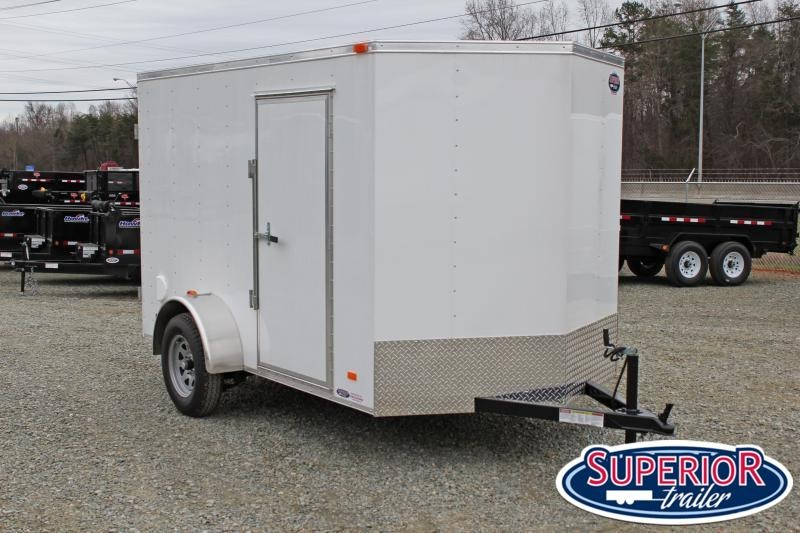 2021 Bravo Hero 6x10 w/ Double Rear Door