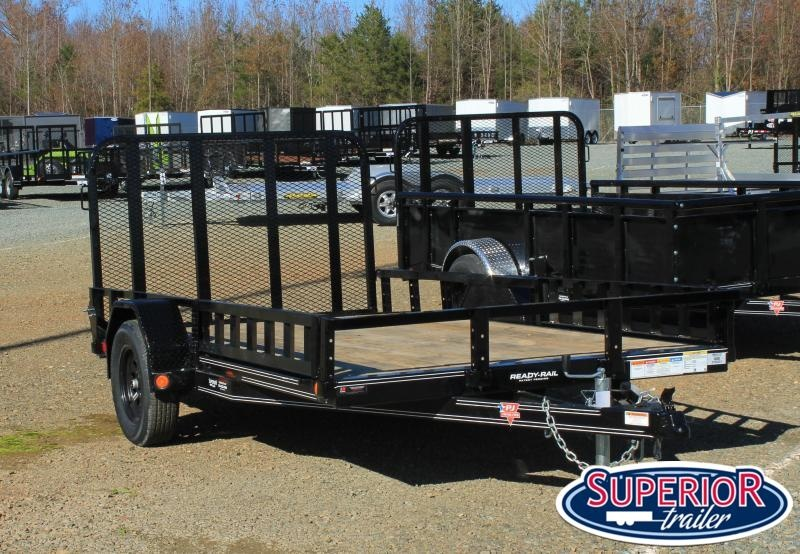 2021 PJ Trailers 6x12 U7 w/ ATV Ramps and Gate