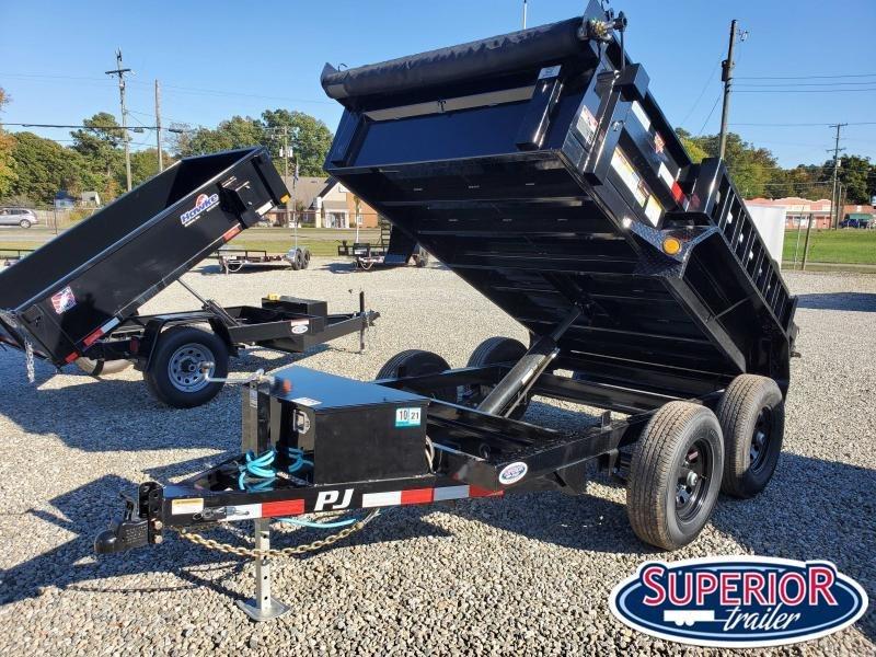 2021 PJ Trailers 5X10 D5 Dump