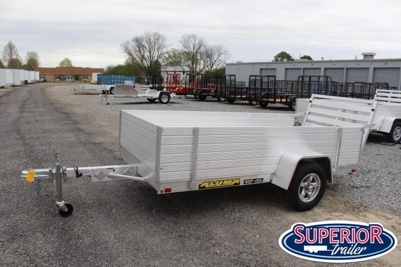 """2022 Aluma 5410 w/ Tailgate and 24"""" Solid Sides"""