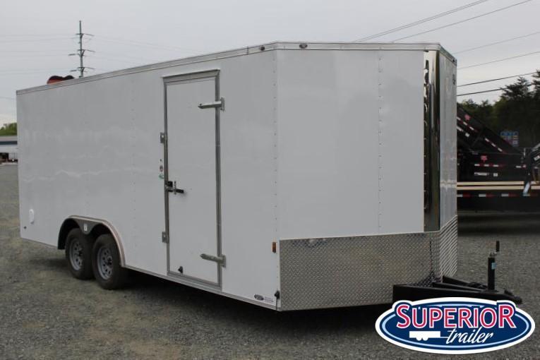 2020 Continental Cargo 8.5X20 7K w/ Ramp Door