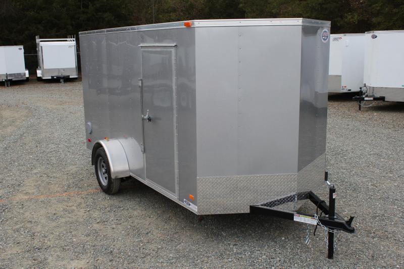 2021 Bravo Hero 6x12 w/ Ramp Door