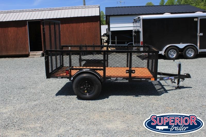 2021 Texas Bragg 4X8LB w/ 2ft Expanded Sides and Gate