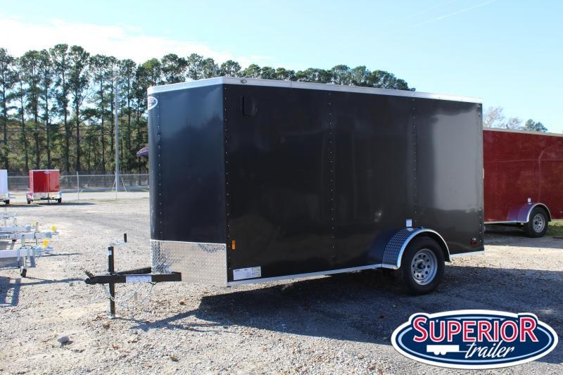 2021 Continental Cargo 6X12 w Ramp Door