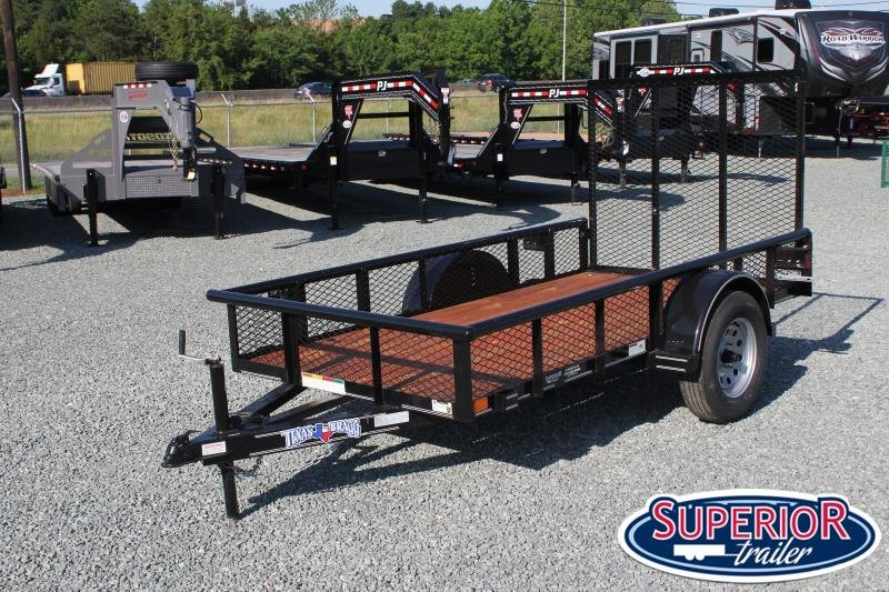 2019 Texas Bragg 5X10P w/ Expanded Sides and Gate