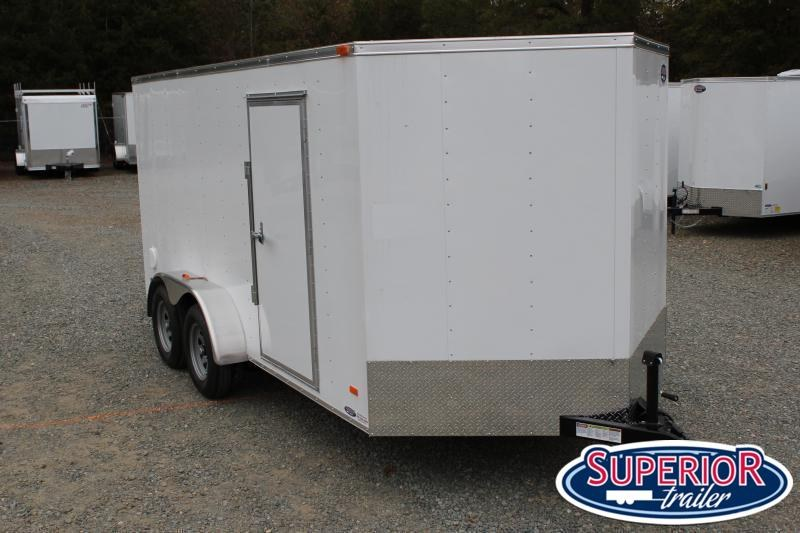 2021 Bravo Hero 7x14 w Ramp Door
