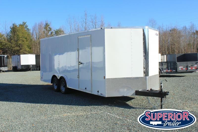 2022 Continental Cargo 8.5X20 10K w/ Ramp Door