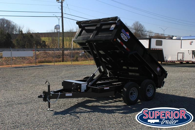 2021 Hawke 6X10 10K Dump w/ Spreader Gate Ramps and HD Tarp