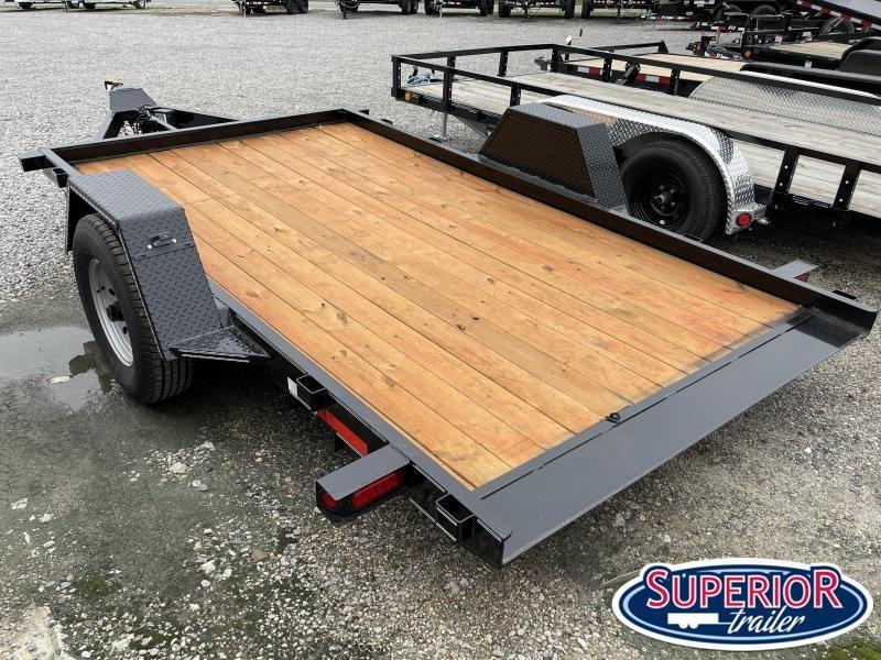 2021 Texas Bragg Trailers 6X12HET 7K Heavy Tilt Equipment Trailer