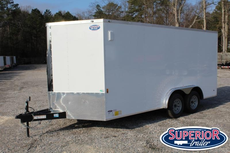 2021 Continental Cargo 8X16 w/Ramp Door