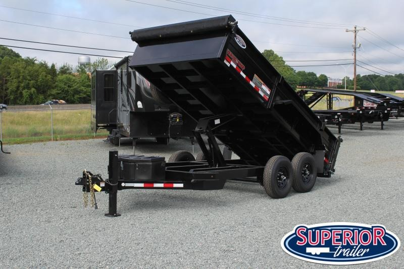 2020 Midsota HV-14 7x14 15K Dump Trailer w/ 7K Axles