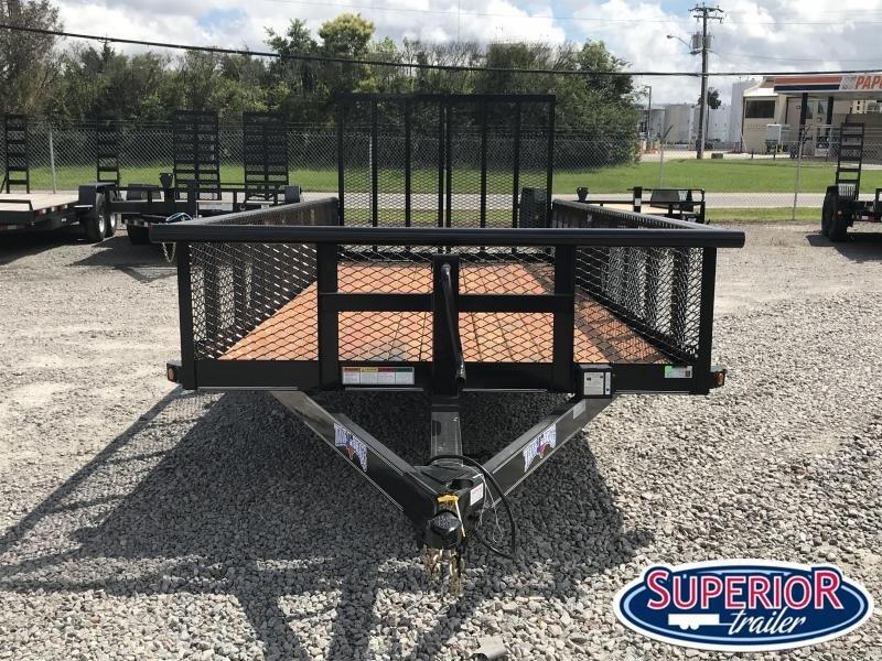 2020 Texas Bragg 18BP 10K w/ 2' Expanded Sides & Split Gate