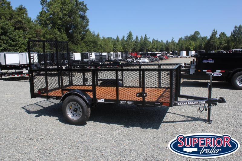 2021 Texas Bragg 5X10LB w/ 2ft Expanded Sides & Gate