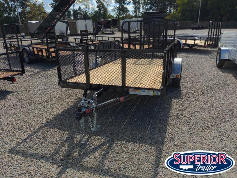 2021 PJ Trailers 6x12 U7 w/ Fold In Gate