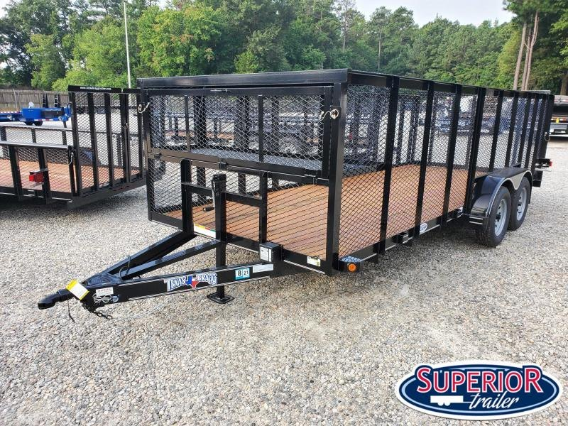 2020 Texas Bragg Trailers 18LST w/ Tailgate