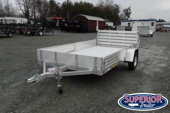 "2020 Aluma 8112SR BT w/ Side Ramps 12"" Sides and Bi Fold Gate"