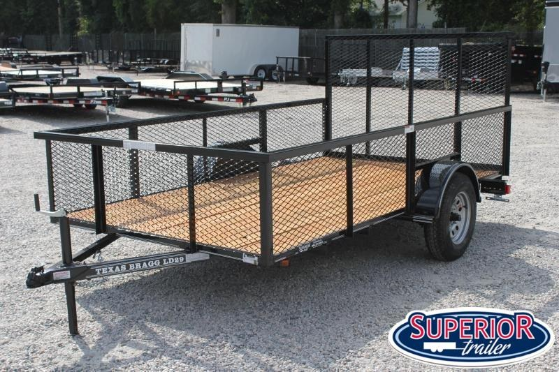 2021 Texas Bragg 6x12LD w/ 2ft Expanded Sides and Gate
