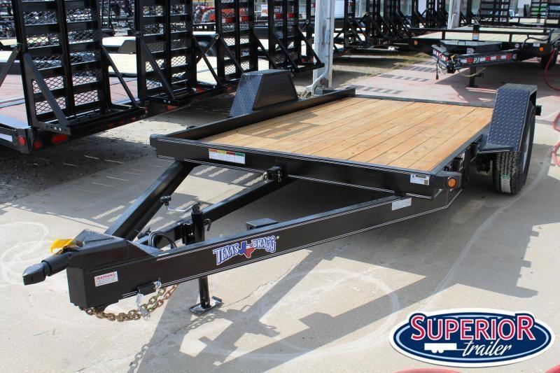 2020 Texas Bragg Trailers 6X12HET 7K Heavy Tilt Equipment Trailer