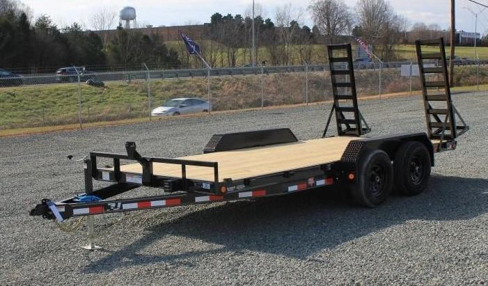 2021 PJ Trailers 16 CE 10K w/ Fold Up Ramps