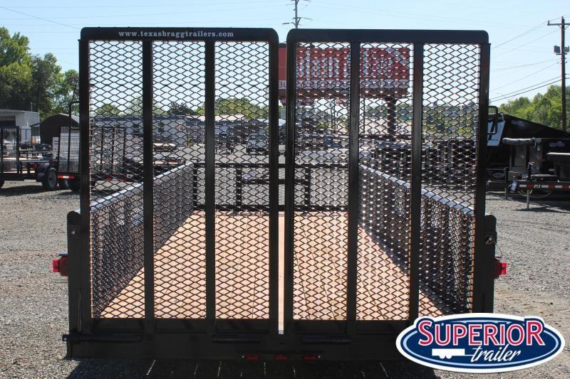 2021 Texas Bragg 20BP 10K w/ 2' Expanded Sides & Split Gate