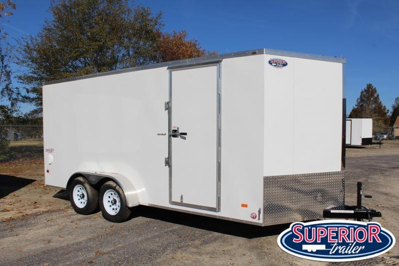 2022 Bravo Scout 7x16 w/ Extra Height and Ramp