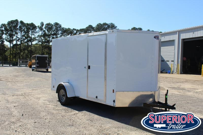 2021 Continental Cargo 6.5X12 w/ Ramp Door