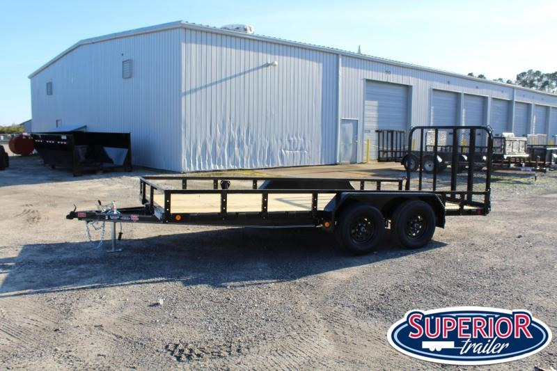 2021 PJ Trailers 16ft UL 7K Utility Trailer w/ Gate