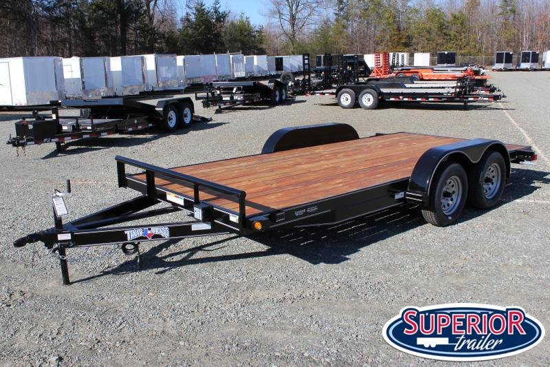 2020 Texas Bragg Trailers 16 HCH Car Trailer