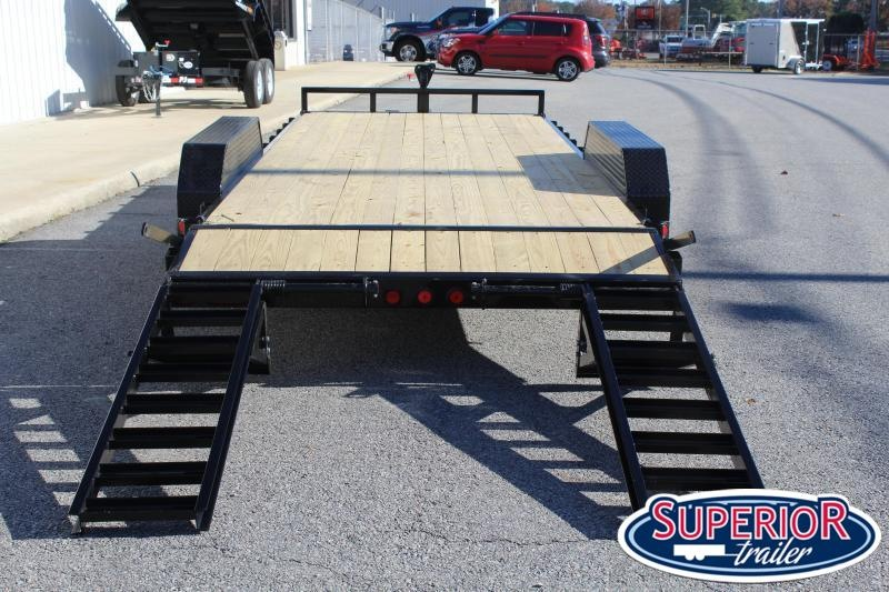 2020 PJ Trailers 18' CC 14K w/ Fold Up Ramps