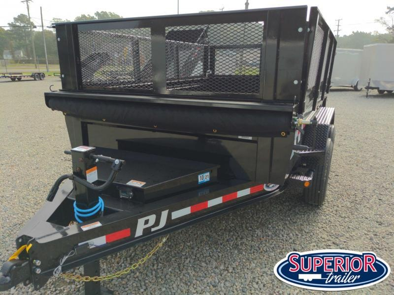 2021 PJ Trailers 7X12 DL 14K Dump Trailer
