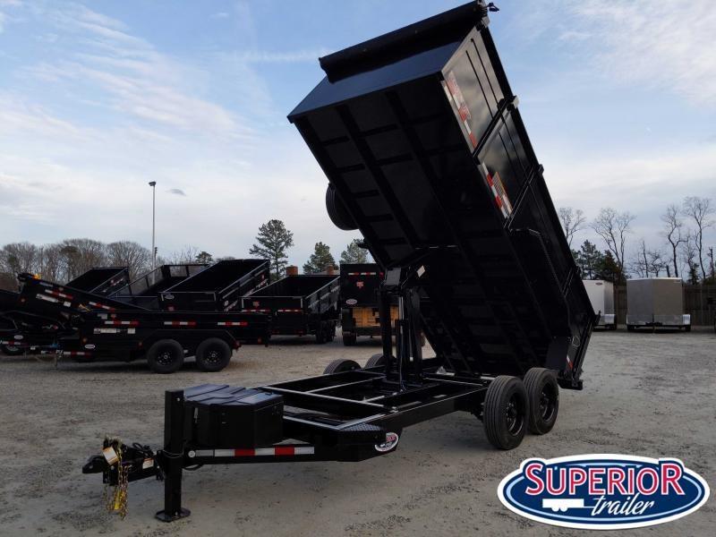 2020 Midsota HV-16 7x16 16K Tandem Axle Dump Trailer