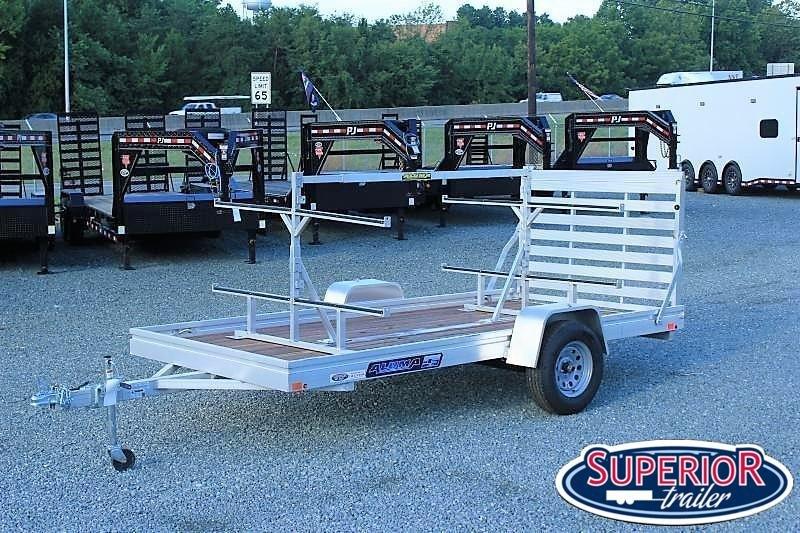 Aluma 6812ESW w/ Tailgate and Kayak Rack