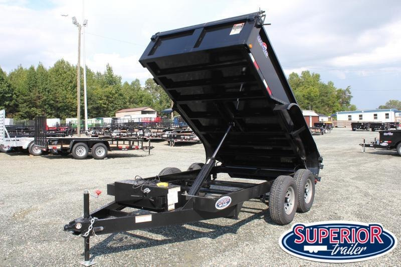 2021 Hawke 6X12 10K Dump w/ Tarp