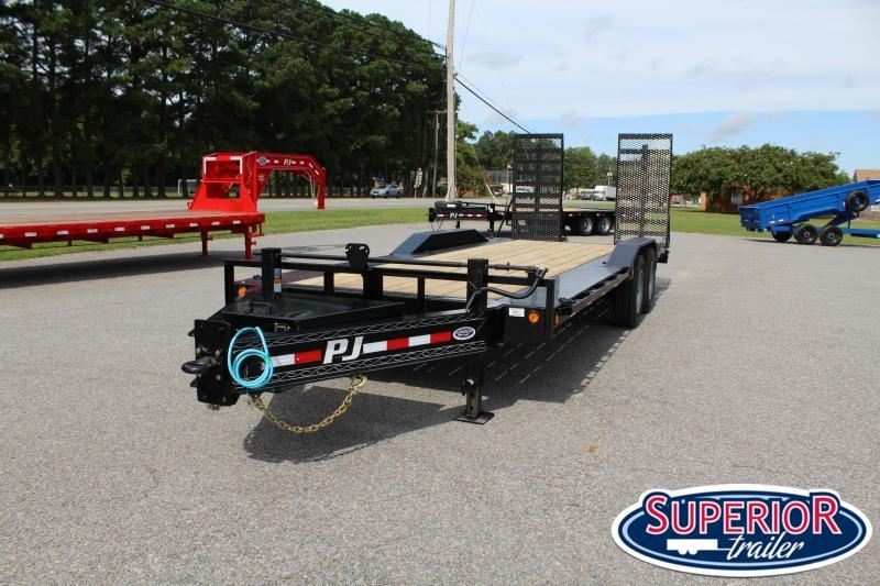 2020 PJ Trailers 22 H7 20K w/ 31X66 HD Fold Up Ramps