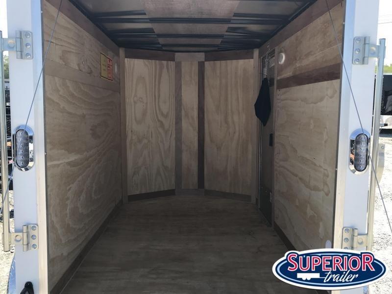 2022 Continental Cargo 5X8 w/ Side Door & Ramp