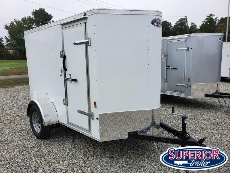 2021 Continental Cargo 5X8 w/ Side Door & Ramp